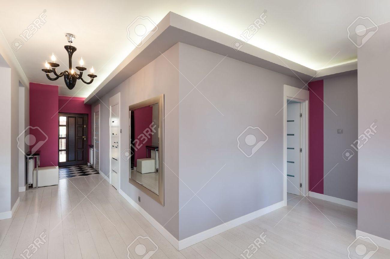 couloir maison moderne menuiserie. Black Bedroom Furniture Sets. Home Design Ideas