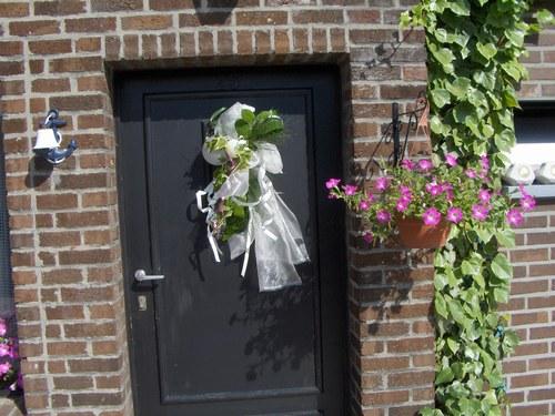 Decoration porte d entr e pour mariage menuiserie for Decoration porte d entree