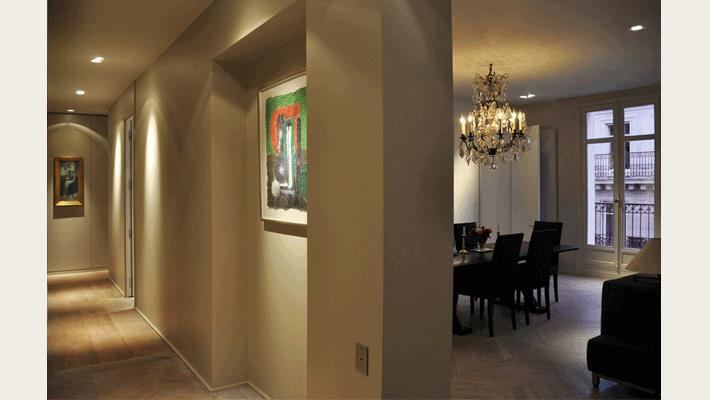 couloir design menuiserie. Black Bedroom Furniture Sets. Home Design Ideas
