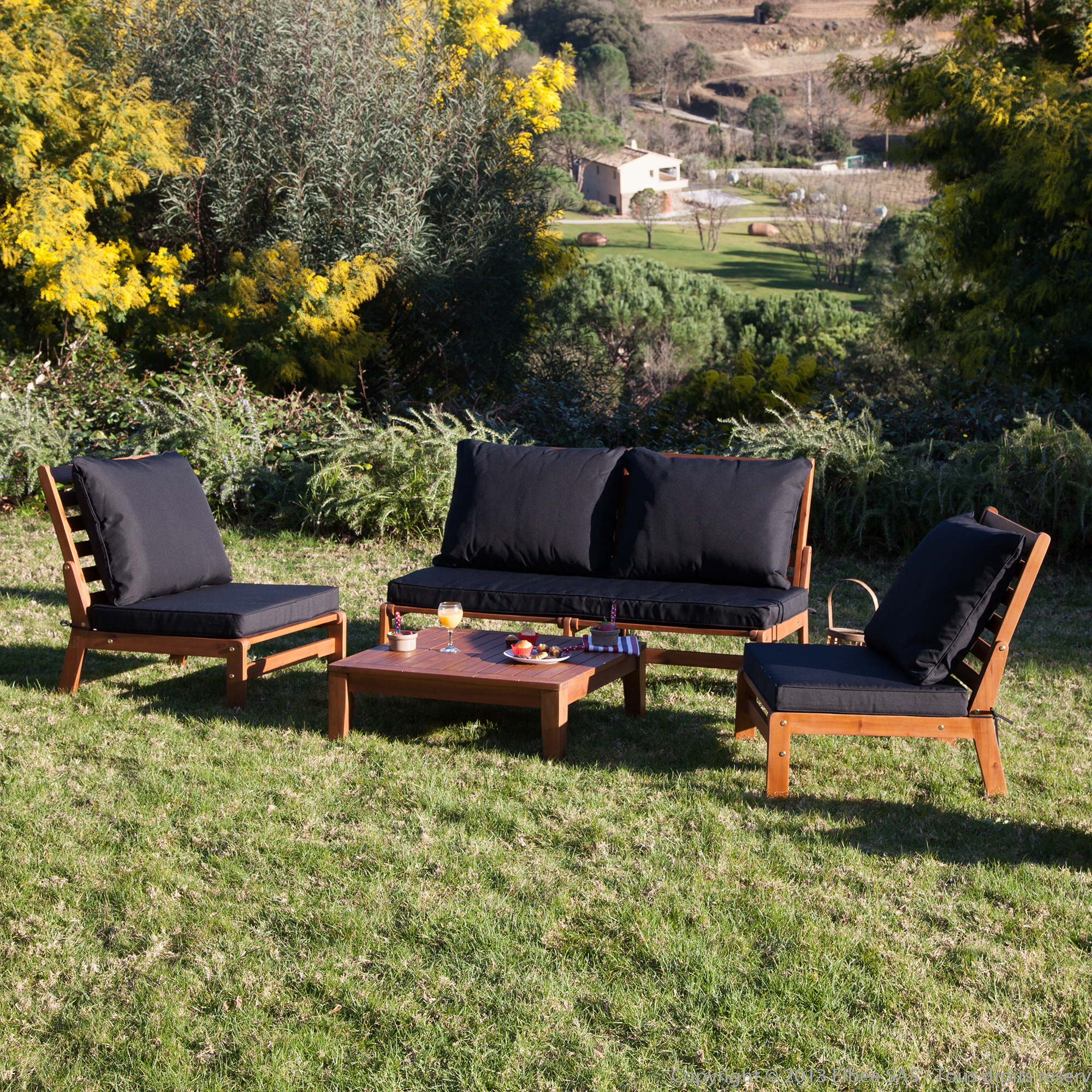 Beautiful Fauteuil Salon De Jardin En Bois Ideas - Design Trends ...