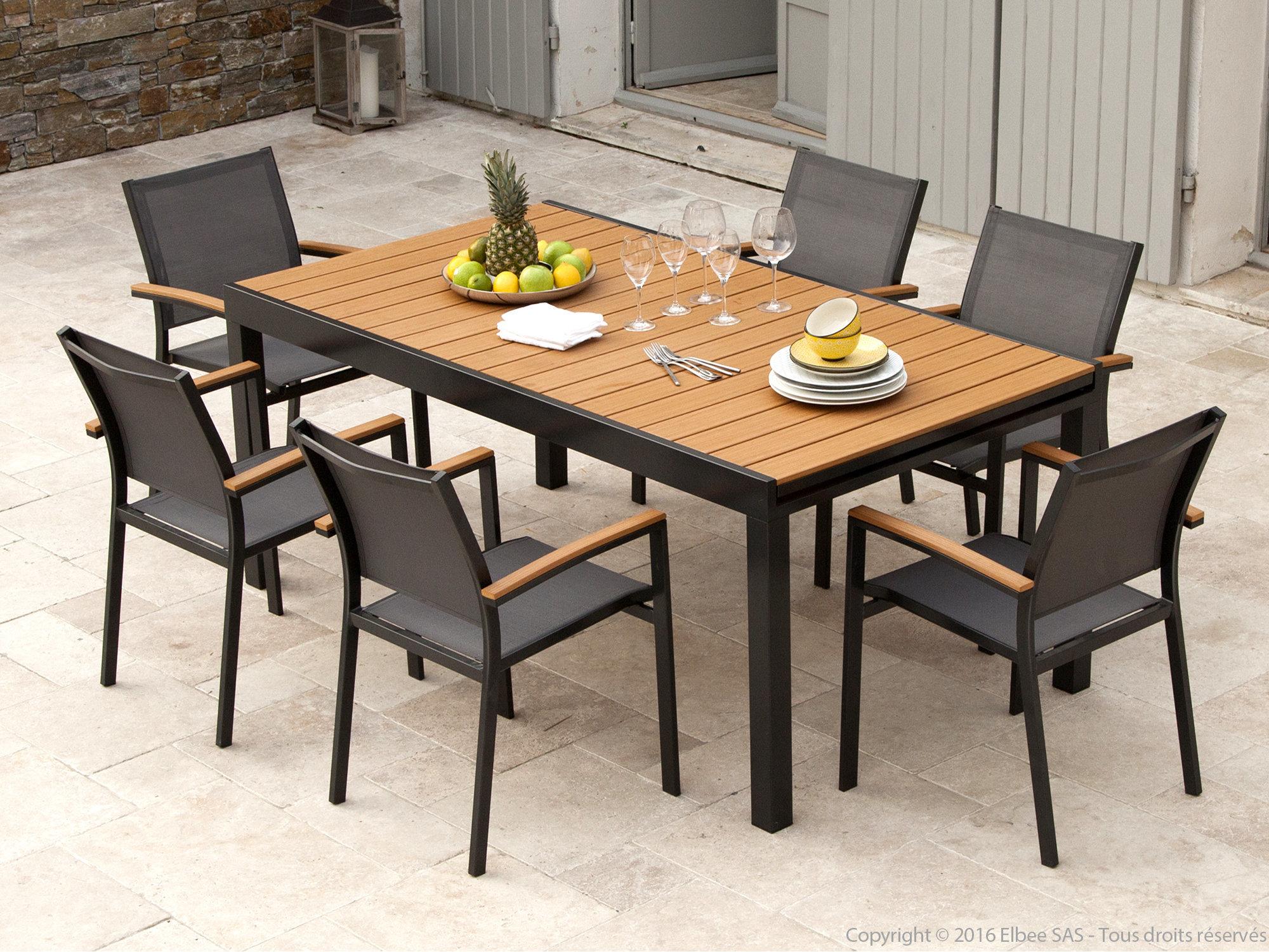 Stunning Table De Salon De Jardin Bois Pictures - Amazing House ...