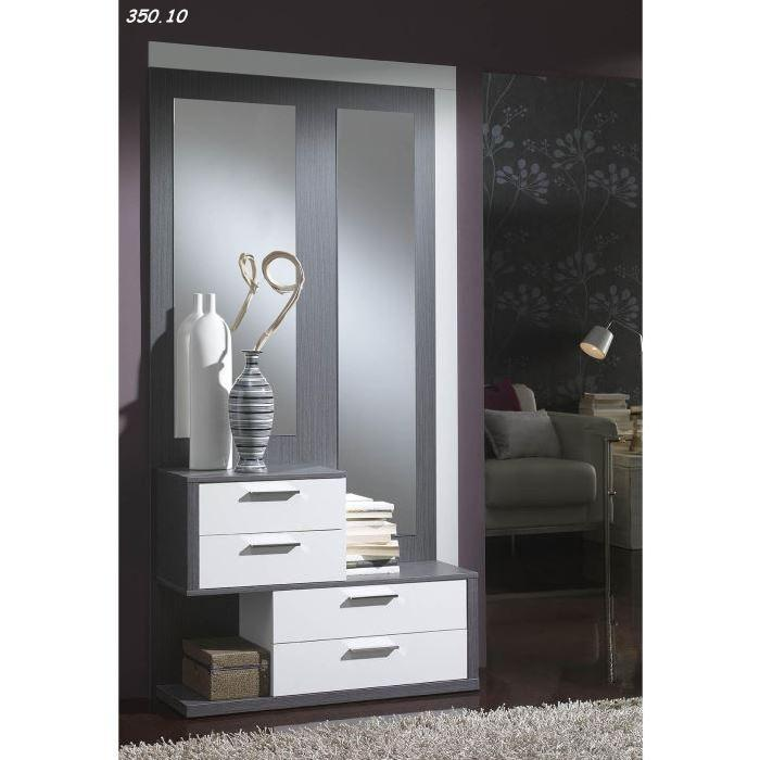 console avec miroir pour entr e menuiserie. Black Bedroom Furniture Sets. Home Design Ideas