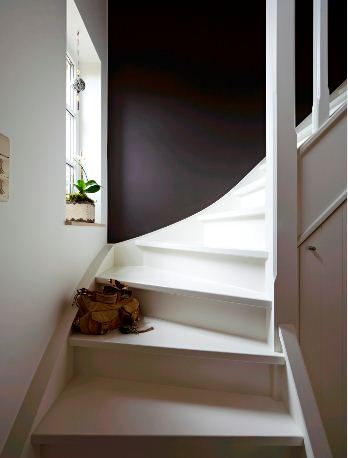id e d co hall d entr e avec escalier menuiserie. Black Bedroom Furniture Sets. Home Design Ideas