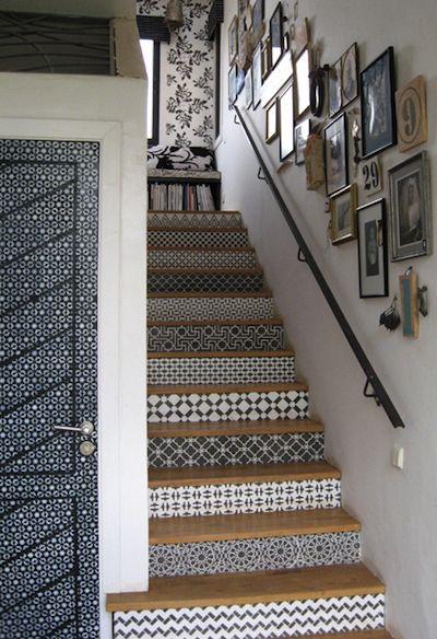 Idee deco entree avec escalier - Menuiserie
