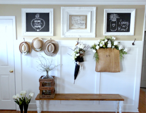 Deco entree chic - Menuiserie