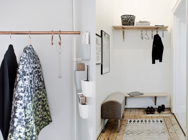 d coration petite entr e appartement menuiserie. Black Bedroom Furniture Sets. Home Design Ideas