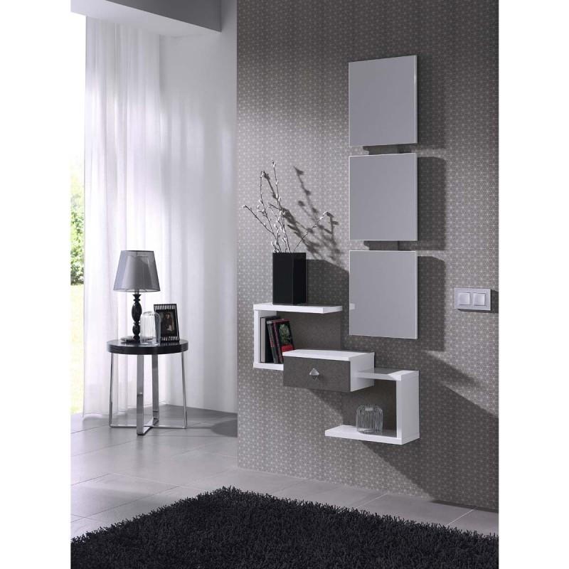 Meuble design pour hall d entr e menuiserie - Miroir d entree ...