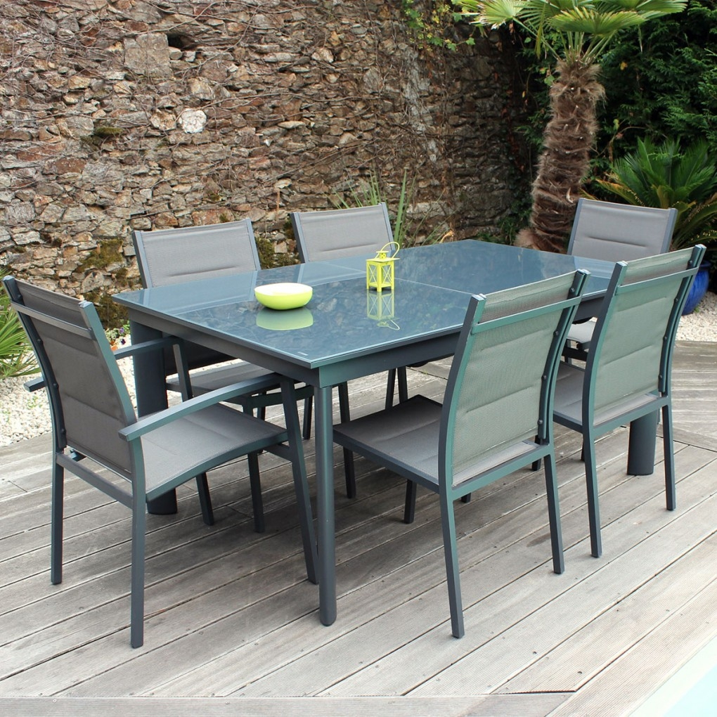 Ensemble table et chaise de jardin en resine pas cher for Ensemble table jardin