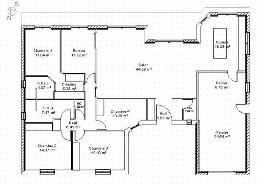 Plan Maison Plain Pied Archives - Page 12 Sur 25 - Menuiserie