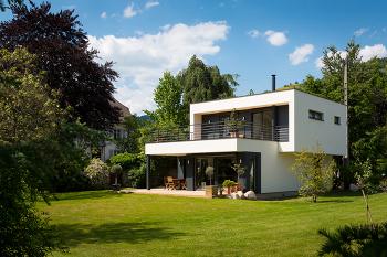 Maison contemporaine 110m2 menuiserie for Maison contemporaine 110m2