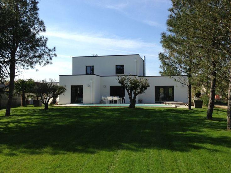 Maison contemporaine toit plat - Menuiserie