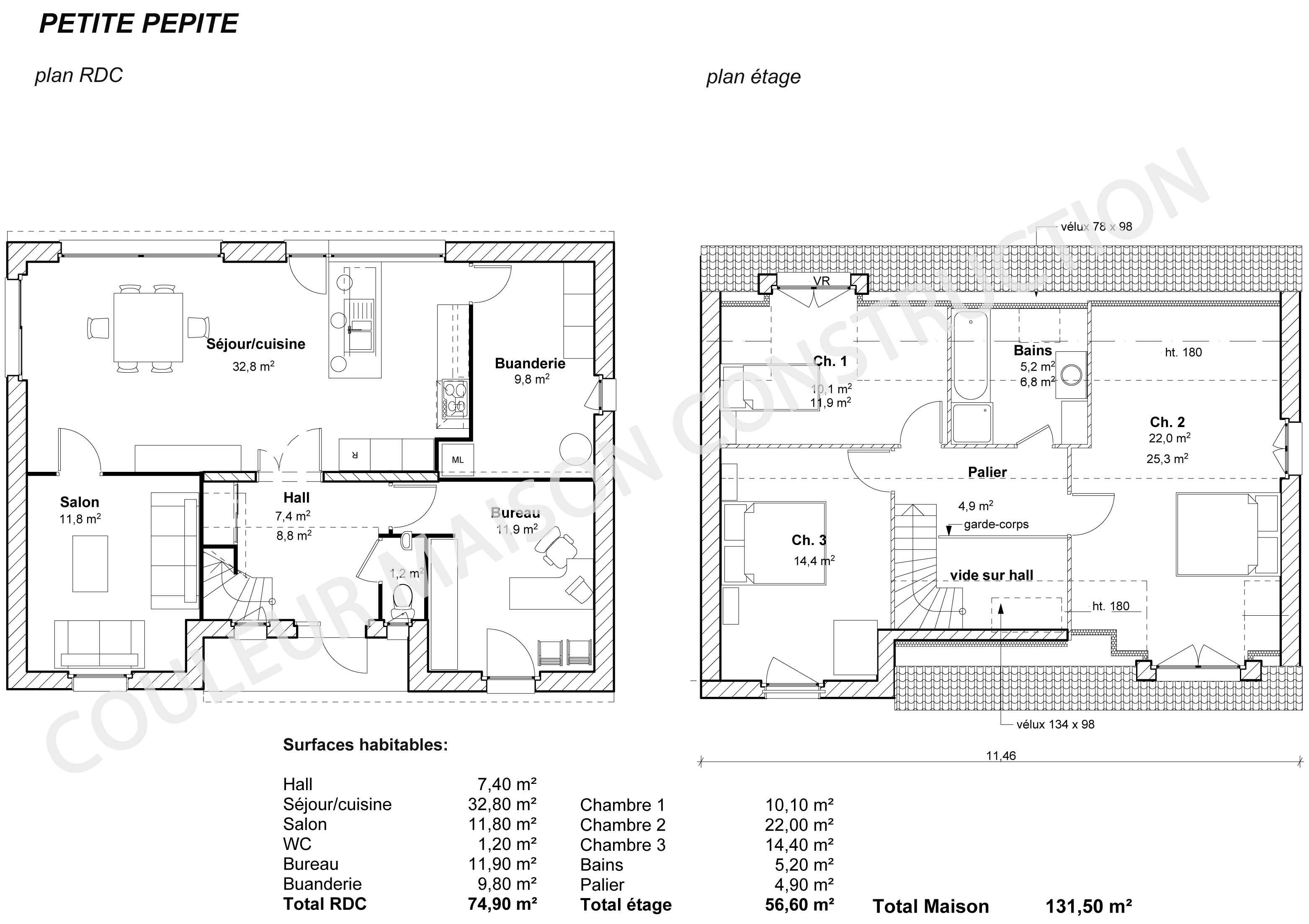 architecture petite maison moderne - menuiserie