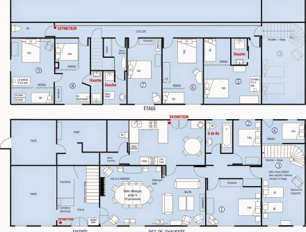 Latest Plan Maison M Chambres With Plan Maison 120m2 4 Chambres