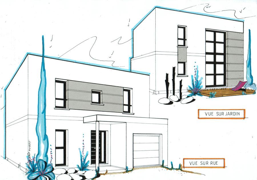 Plan maison cubique plan maison cubique top maison plan for Plan maison cubique