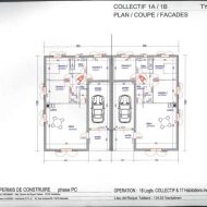 Plan Maison Mitoyenne Plain Pied