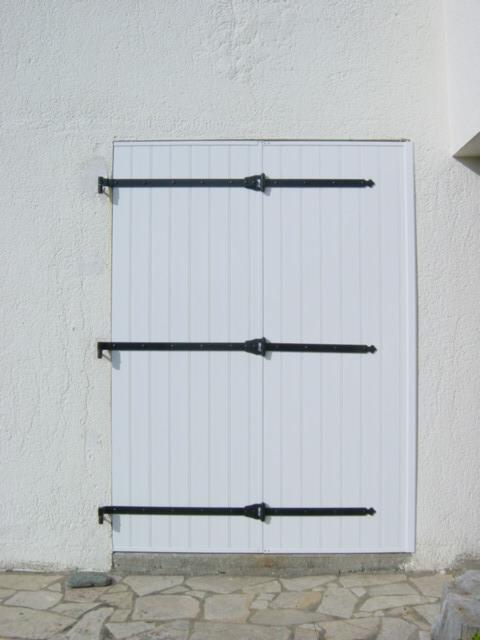Volet battant 4 vantaux menuiserie - Porte exterieure double battant ...