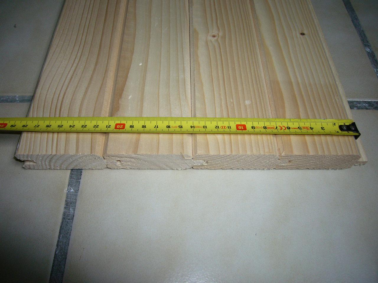 Fabrication d un volet en bois - Menuiserie
