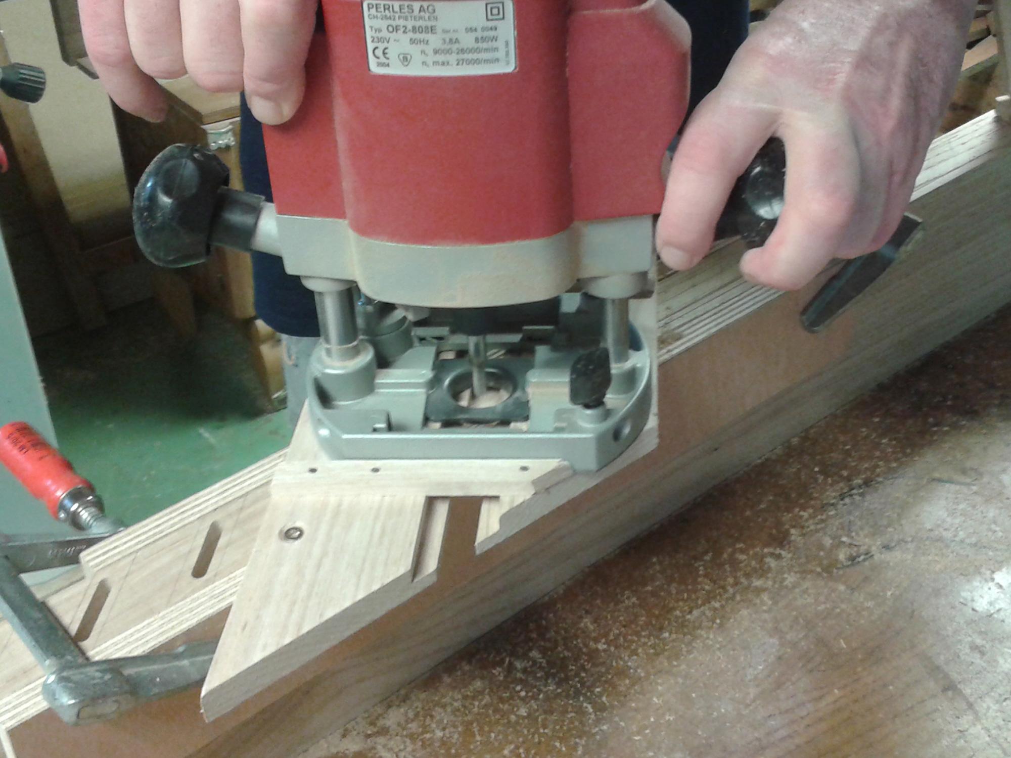 Fabriquer volet persienne bois - Menuiserie