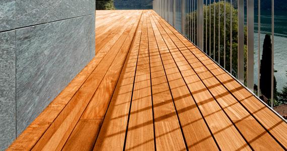 plancher terrasse bois - menuiserie