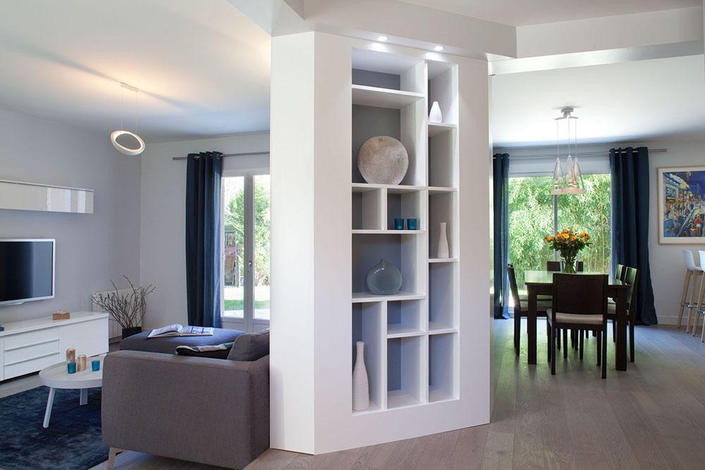porche d entr e maison contemporaine menuiserie. Black Bedroom Furniture Sets. Home Design Ideas