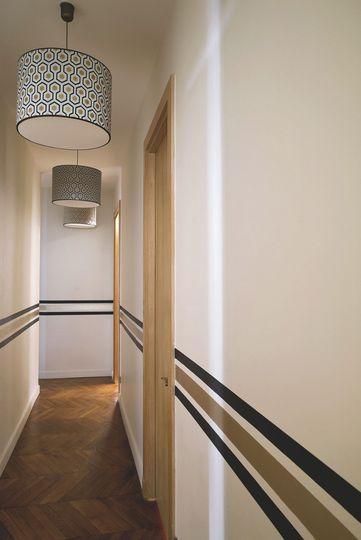 Peinture couloir moderne - Menuiserie