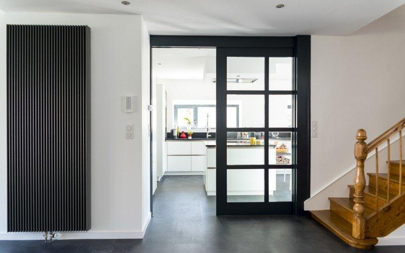 Aménagement entrée intérieure maison - Menuiserie
