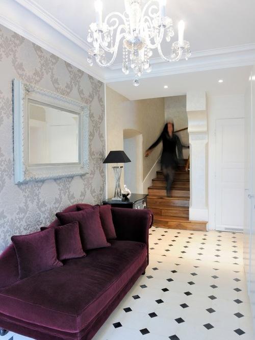 deco porte entree maison menuiserie. Black Bedroom Furniture Sets. Home Design Ideas