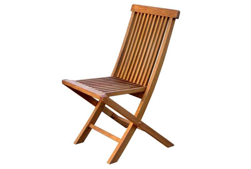 chaise jardin teck menuiserie. Black Bedroom Furniture Sets. Home Design Ideas