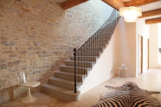 Superbe Déco Entrée Avec Escalier