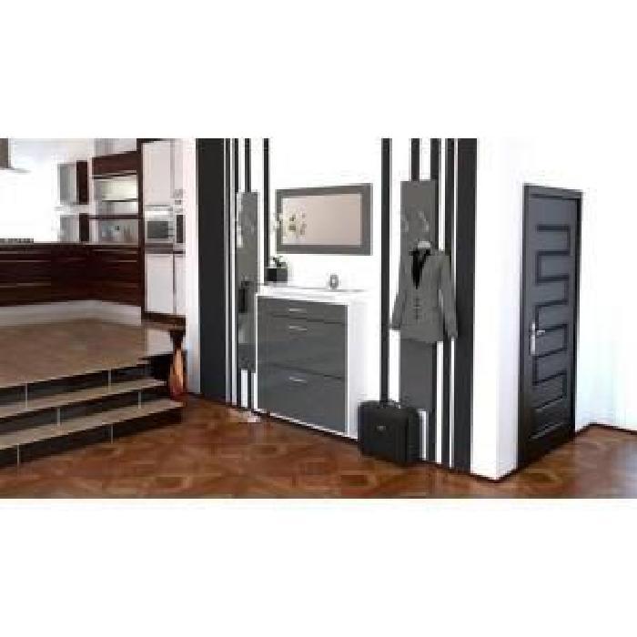 meuble console d entr e design menuiserie. Black Bedroom Furniture Sets. Home Design Ideas