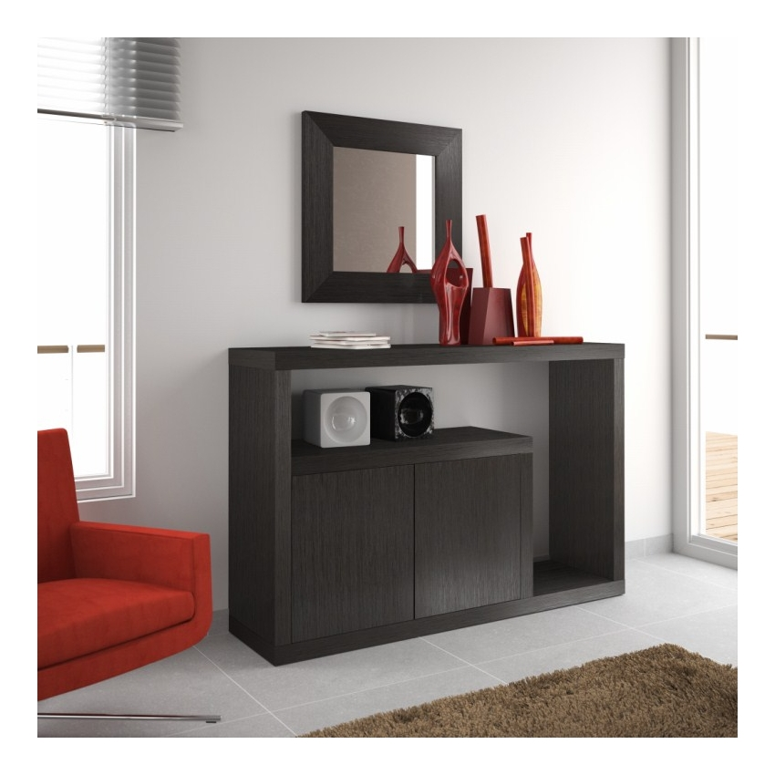 meuble console d entr e design menuiserie. Black Bedroom Furniture Sets. Home Design Ideas