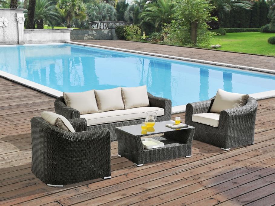 mobilier de jardin soldes menuiserie. Black Bedroom Furniture Sets. Home Design Ideas