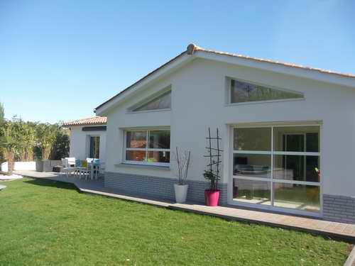 Maison plain pied 150m2 menuiserie - Plan maison 150m2 plain pied ...