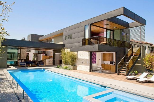 Maison moderne architecte - Menuiserie