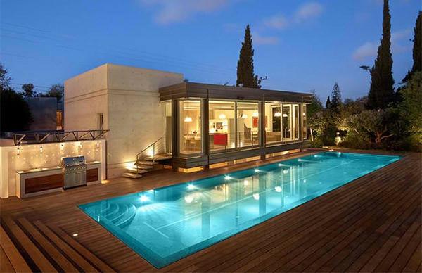 maison rectangulaire moderne ventana blog. Black Bedroom Furniture Sets. Home Design Ideas